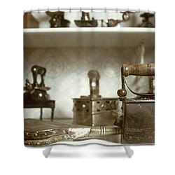 Iron, 19th Century Shower Curtain by Granger