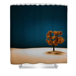 It Is Always There Shower Curtain by Mark  Ross