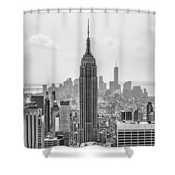 It's A Jungle Out There Shower Curtain by Az Jackson