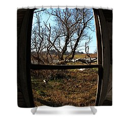 It's All A Matter Of Perspective Shower Curtain by Amanda Barcon