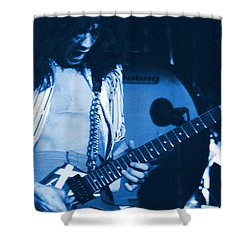 Jamie's Crying The Blues In Spokane Shower Curtain by Ben Upham