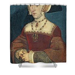 Jane Seymour Shower Curtain by Holbein