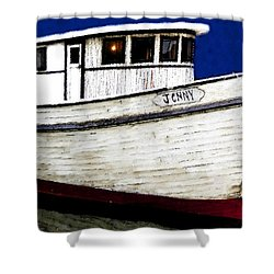 Jenny Shower Curtain by David Lee Thompson