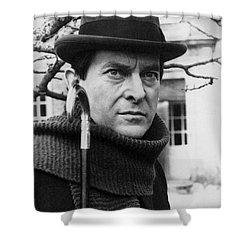 Jeremy Brett (1935-1995) Shower Curtain by Granger