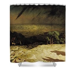 Jerusalem Shower Curtain by Jean Leon Gerome