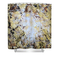 Jesus In Disguise Shower Curtain by Kume Bryant