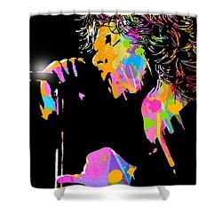 Jim Morrison Shower Curtain by Paul Sachtleben