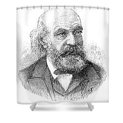 John Couch Adams (1819-1892) Shower Curtain by Granger