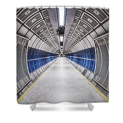 Journey To The Center Of Your Mind Shower Curtain by Evelina Kremsdorf