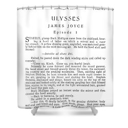 Joyce: Ulysses, 1918 Shower Curtain by Granger