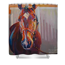 JT Shower Curtain by Kimberly Santini