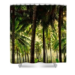 Jungle Paradise Shower Curtain by James BO  Insogna