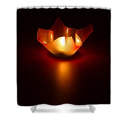 Keep The Light On Shower Curtain by Evelina Kremsdorf