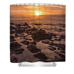 Kihei Sunset 2 - Maui Hawaii Shower Curtain by Brian Harig