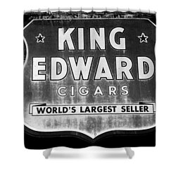 King Edward Cigars Shower Curtain by David Lee Thompson