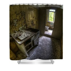 Kitchen With A Loo Shower Curtain by Nathan Wright