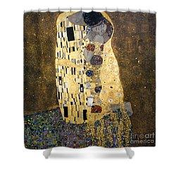 Klimt: The Kiss, 1907-08 Shower Curtain by Granger