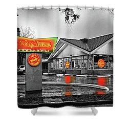 Krispy Kreme Shower Curtain by Michael Thomas