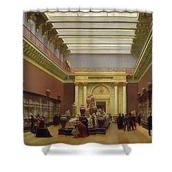 La Galerie Campana Shower Curtain by Charles Giraud