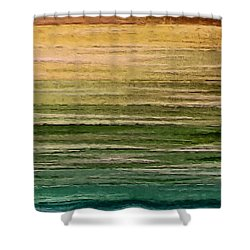 Lake Shower Curtain by Ely Arsha