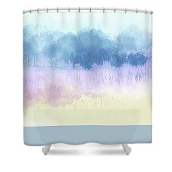 Landscape Shower Curtain by W I L L Alexander