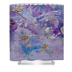 Lavender Haze Shower Curtain by Don  Wright