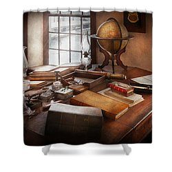 Lawyer - The Adventurer  Shower Curtain by Mike Savad