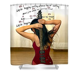 Layla Shower Curtain by Donovan Torres