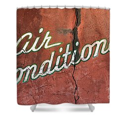 Let The Cool Air In Shower Curtain by Phyllis Webster