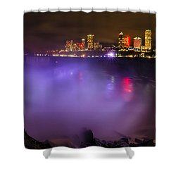 Let There Be Light Shower Curtain by Mark Papke