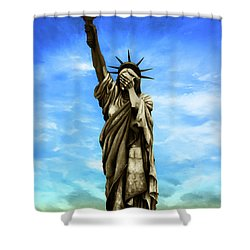 Liberty 2016 Shower Curtain by Kd Neeley