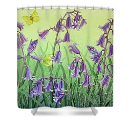 Life Is Everwhere Shower Curtain by Pat Scott
