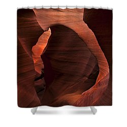 Light At Tne End Of The Tunnel Shower Curtain by Mike  Dawson