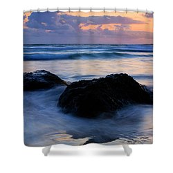 Light Of Dusk Shower Curtain by Mike  Dawson