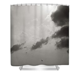 Light Of The Sky Shower Curtain by Konstantin Dikovsky