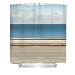 Lincoln Memorial Drive Shower Curtain by Scott Norris