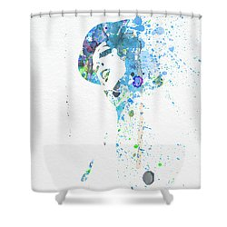Liza Minnelli Shower Curtain by Naxart Studio