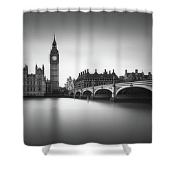 London, Westminster Bridge Shower Curtain by Ivo Kerssemakers