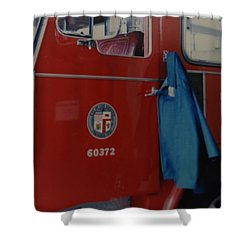 Los Angeles Fire Department Shower Curtain by Rob Hans