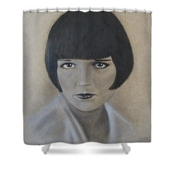 Louise Shower Curtain by Lynet McDonald