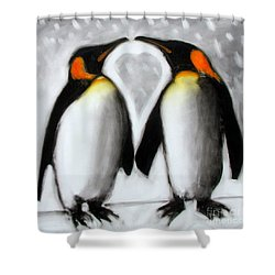 Love Shower Curtain by Paul Powis