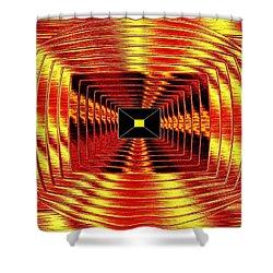 Luminous Energy 12 Shower Curtain by Will Borden