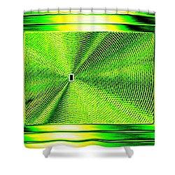 Luminous Energy 14 Shower Curtain by Will Borden