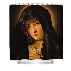 Madonna Shower Curtain by Il Sassoferrato