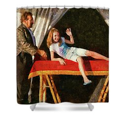 Magic - Can I Have A Volunteer  Shower Curtain by Mike Savad