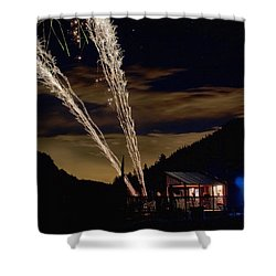 Magic Mountain Shower Curtain by James BO  Insogna