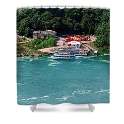 Maid Of The Mist Shower Curtain by Kathleen Struckle