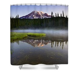 Majestic Dawn Shower Curtain by Mike  Dawson