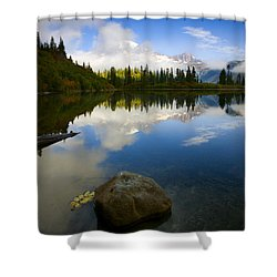 Majesty Revealed Shower Curtain by Mike  Dawson