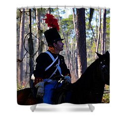 Major Francis L. Dade 1835 Shower Curtain by David Lee Thompson